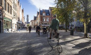 Bruges city centre