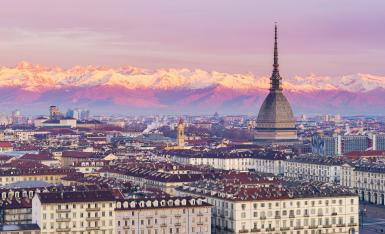 City of Turin landscape