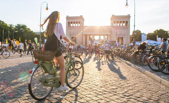 Munich Cycling Night 2016