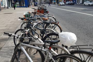 Bicycle parking in Dublin