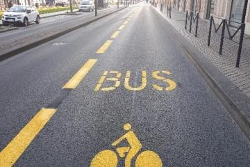 Bordeaux Bike-Bus Lane 2
