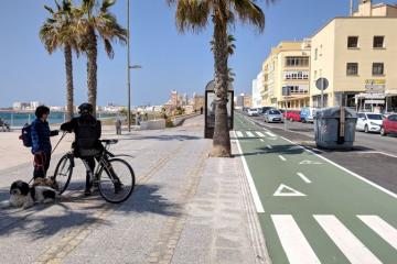 Cadiz cycle path