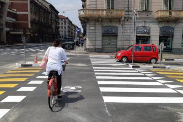 Turin Cycling Infrastructure COVID-19
