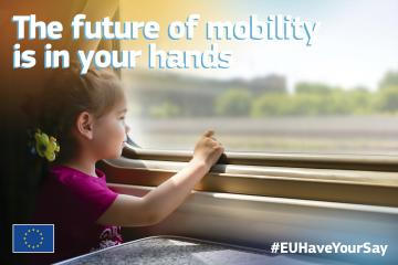 EU Smart and Sustainable Mobility Strategy Consultation Banner
